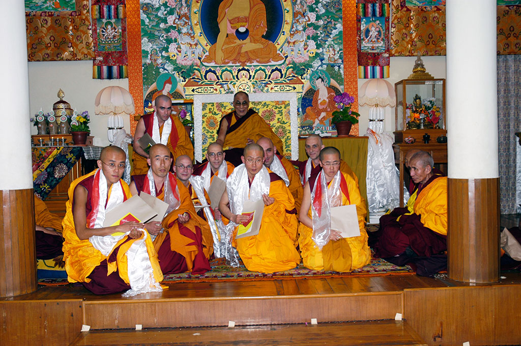 Dharamsala: Ordination, March 12, 2006